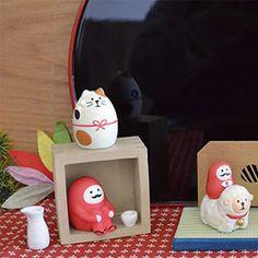 お正月に!ちょこんとかわいい、だるま。 https://room.rakuten.co.jp/room_jp/1700002742619193?scid=we_rom_pinterest_official_20141222_r1