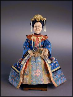 The Empress  1:12th scale miniature doll  by Creager Studios