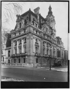 "New York. The Mansion of Senator William A. Clark, The Copper King, 5th Avenue and 77th Street, Built at a cost of 7,000,000 Dollars, December 28th 1910Senator Clark was best known for saying-"";I never bought a man who wasn't for sale."""
