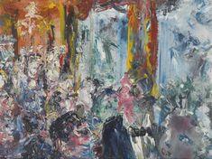 "Jack Butler Yeats, ""The Talkers"" Sotheby's Oct 21 2015 Jack B, Irish Art, Impressionist, Butler, Art History, Modern Art, Auction, Prints, Image"