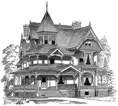 Victorian Houses CD-ROM and Book Dover Publications