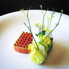 Foodstar Tadashi Takayama (@tadashi_takayama) shared a new image via Foodstarz PLUS /// Salmon Confit, Caviar, Zucchini  #salmon #confit #caviar #zucchini #plating #foodstarz  If you also want to get featured on Foodstarz, just join us, create your own chef profile for free, and start sharing recipes, images and videos.  Foodstarz - Your International Premium Chef Network