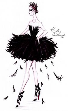 Costume Couture by Hayden Williams: The Black Swan