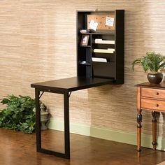 This would be great for the kids to do their homework on. Frank Fold-Out Writing Desk.