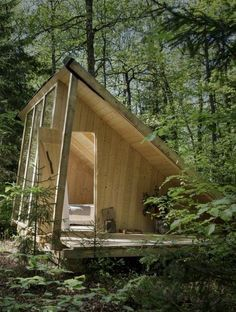20 Best of Minimalist House Designs [Simple Unique and Modern] Spielhaus g Tiny House Ideas Designs House Minimalist Modern simple Spielhaus Unique Dream Home Design, Tiny House Design, Modern House Design, Tiny Cabins, Tiny House Cabin, Eco Cabin, Minimalist House Design, Minimalist Home, Modern Playhouse