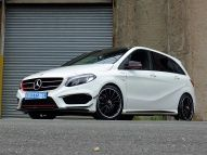 "B-Klasse goes High Performance: Mercedes B 200 d als ""AMG B45 Edition1"""