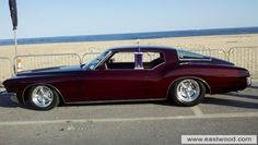 Another awesome Eastwood Car of the Month entry: Custom '72 Buick Riveria Boattail