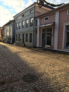 Sunny November morning in Porvoo old town