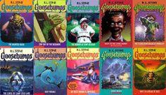 Goosebumps! I think I read every single one!