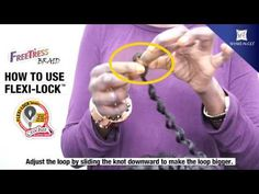 [FreeTress Braid] How To Use Flexi-Lock
