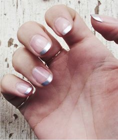 Modern French Mani. Would you?
