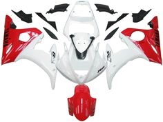 Mad Hornets - Fairings Yamaha YZF-R6 White