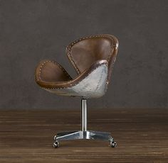I can't imagine a better-looking office chair. Restoration Hardware has a way of making me fall in love with everything they do.
