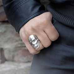 Fancy - Phantom Skull Ring by Snake Bones