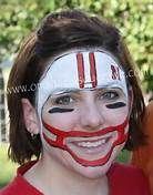 Football face painting - Bing Images