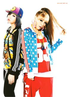 #Minzy #CL  #2NE1