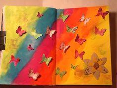 Art Journal Pages, Medium Art, Mixed Media Art, My Arts, Mixed Media