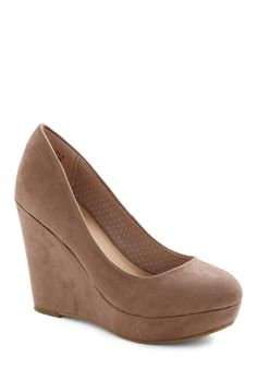 Writer's Colorblock Wedge, #ModCloth $44.99 I like these a lot they are 4.5 inches though I don't know if you want that high they don't have like any sizes but they can get more i guess if you say you need in