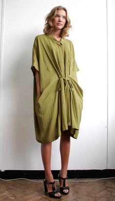 Peter Jensen // Oversized Shirt Dress