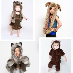 Spirithoods Animal hats – Winter Gear for Kids – Dress Up Play and Costumes | Small for Big