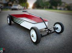 custom kids wagon | Custom Kids Wagon, Hot Rod Wagon, 3 Colour Choices. on Wanelo