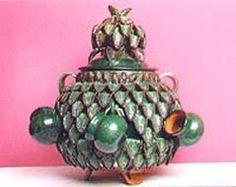 el estado de michoacán es uno Mexican Crafts, Mexican Folk Art, Pineapple Art, Mexico Art, Hacienda Style, Latin America, Ceramic Art, Panama, Pottery
