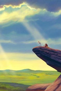 pride rock from Lion King