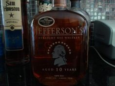 Jefferson's Straight Rye Whiskey
