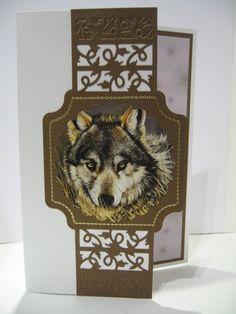 Pollyanna Pickering - World Wildlife Elizabeth Craft, Paper Crafts, Card Crafts, Bird Cards, Animal Cards, Masculine Cards, Pet Birds, Card Stock, Birthday Cards
