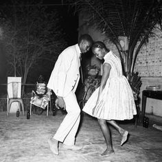 Malick Sidibé: Nuit de Noël, 1963. Such a beautiful portrait of young Mali. Saw this a couple years ago at the Nasher Musuem.