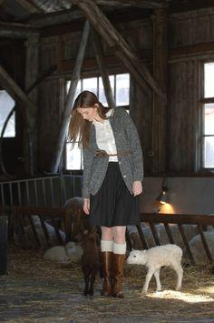 Naisen neuletakki Novita 7 Veljestä Nostalgia | Novita knits