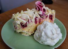 Desert, #Eis, #Schlagsahne, #Schlagoberst Pie, Desserts, Food, Italian Ice, Whipped Cream, Cooking, Torte, Tailgate Desserts, Cake