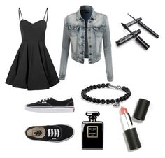 """Untitled #14"" by dreairwin on Polyvore featuring Glamorous, LE3NO, Vans, David Yurman and Sigma Beauty"