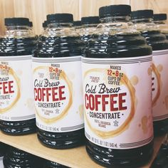 cold brew coffee concentrate by Trader Joe's must find and try,,,,