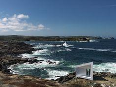 Squish Studio, Newfoundland, Fogo Island, 2011 #landscape #nature