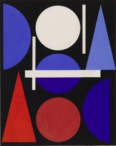 By Auguste Herbin (1882-1960), 1960, Nude.