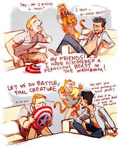 Hangover and Avengers <3