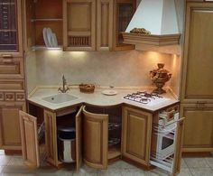13 Widely Tiny Kitchen Appliances Collection - There are on-line kitchen design services that allow you to design your kitchen on-line. Modern Grey Kitchen, Grey Kitchen Designs, Design Your Kitchen, Tiny House Appliances, Small Kitchen Appliances, Small Space Kitchen, Small Spaces, Kitchen Cabinet Remodel, Kitchen Cabinets