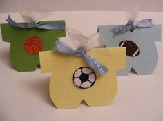 Sports Baby Shower Party Favor - Football, Basketball, Soccer, Baseball, Volleyball  - Set of 10 on Etsy, $15.00