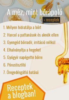 A méz nemcsak az immunrendszerünket támogatja, hanem kiváló bőrápoló is. Íme 8 ok, amiért érdemes beépítened az arcápolási és bőrápolási rutinodba! 🐝