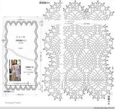 围巾季---五款菠萝元素围巾 - 眉眉若可 - 眉眉若可 tanti modelli con schema del punto e misure varie.