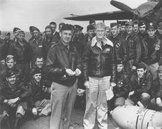 Jimmy Doolittle on the USS Hornet