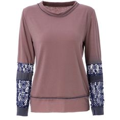 10.6$  Buy now - http://di2lr.justgood.pw/go.php?t=167644701 - Scoop Neck Long Sleeve Tie-Dyeing  T-Shirt For Women 10.6$