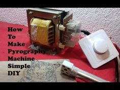 Microwave Transformer for Lichtenburg Figures - YouTube