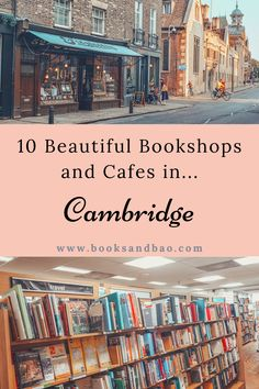 Bookstore Design, Bookstores, Libraries, Literary Travel, Book Shops, Cambridge Uk, Beautiful Library, World Literature, Places