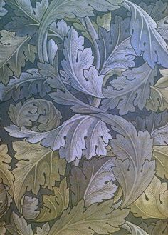 Blue Acanthus Rug Kit by William Morris (with silk threads) | Art Needlepoint Co.