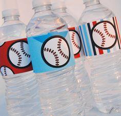 Baseball Full Printable Party Decor DIY Birthday Boys All Star