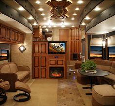 Luxury 5th Wheel RV   EnduraMAX luxury toy haulers generate sales at Tampa RV show > RV ...
