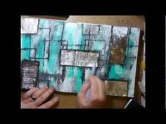 Art Journal Texture Extravaganza - Another fantastic YouTube video by ImperfectImpulses