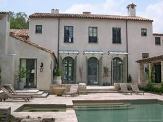 Single-Family Residence | Houston, TX | 2008 Single stone ledge under windows? Awnings?